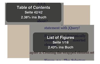 Zweistellige Verzeichnisgrößen auf dem iPhone