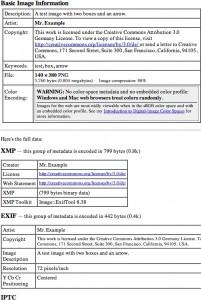 Metadaten-Anzeige in Jeffrey's Exif Viewer, http://regex.info/